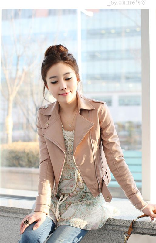 Pink leather jackets Leather jackets and Pink leather on Pinterest