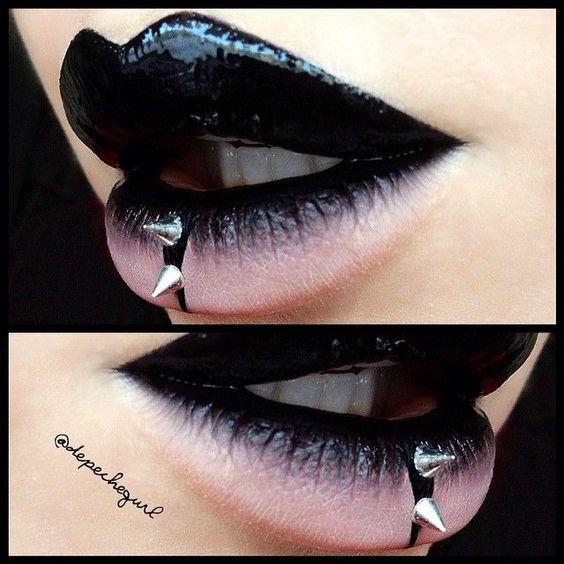 "depechegurl   Black Chyna"" Liquid Lipstick from @feyoshecosmetics #latex ..."