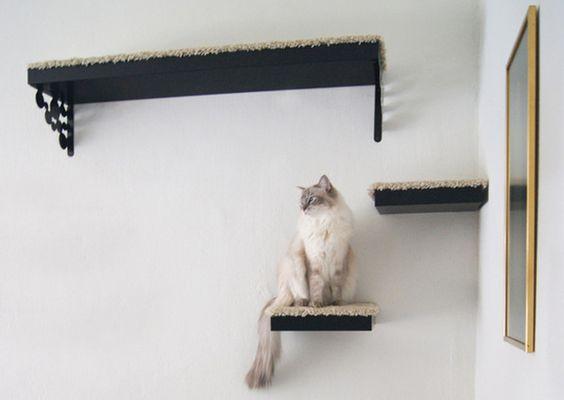 Lack Shelf Cat Tree