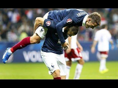 Fraja tv: Antoine Griezmann lesionó a Karim Benzema en la celebración del cuarto gol ante Armenia