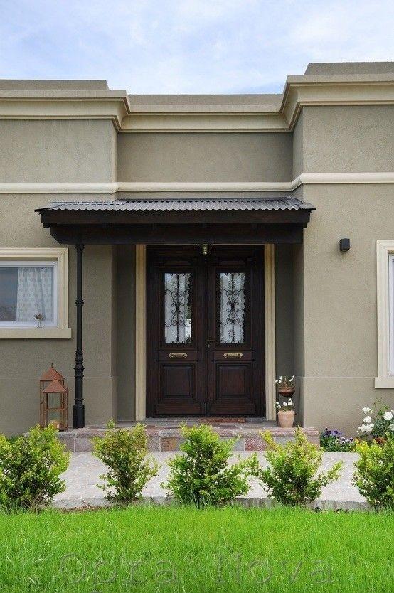 Al estilo argentino una casa encantadora en zona norte for Diseno de entradas principales de casas