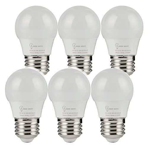 Lumenbasic 12 V Led Bulbs E26 E27 12vdc 12vac Light Bulbs Low Voltage Edison Ac Dc Screw In Light Bulbs For Off Grid Solar Li Led Bulb Solar Lights Light Bulbs