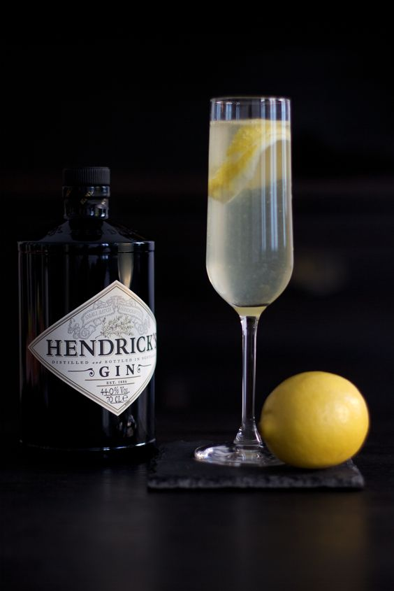 Französisch 75, Hendrick Gin and Champagner on Pinterest