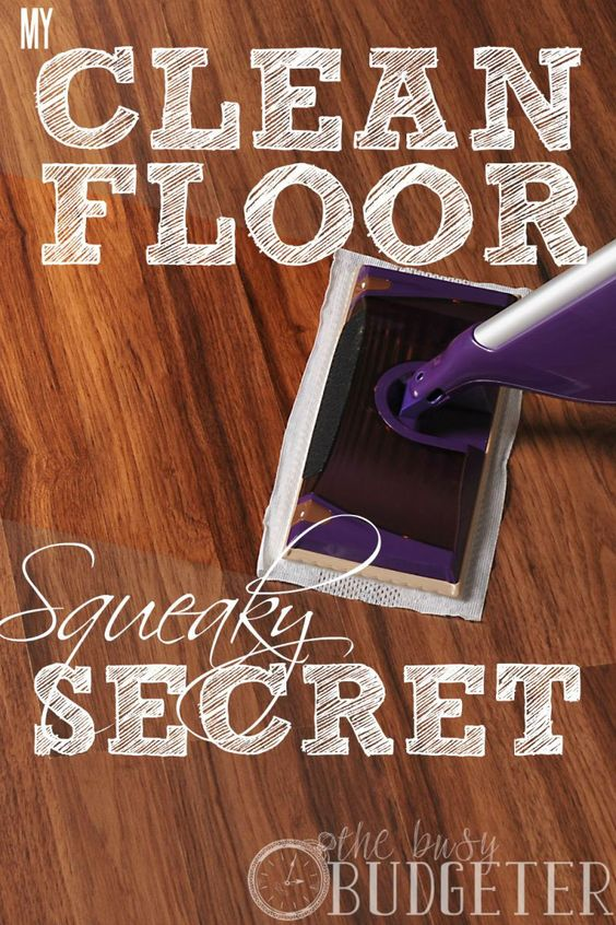 I suspected that was the secret to cleaning wooden floors! Now I know for sure! I need to do this. My floors have been a disaster and I try everything. Mopping takes FOREVER. Plus, I don't really want a bucket of chemicals hanging around my toddlers.