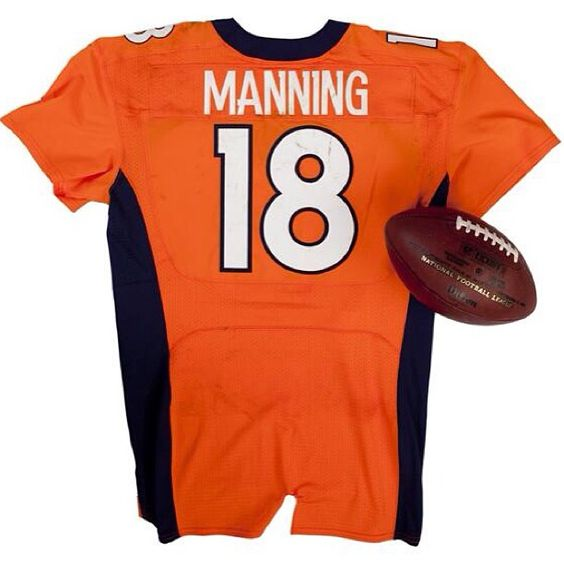 Manning 7 TD's in a game. Entered Jersey and Ball into NFL Hall of FAME
