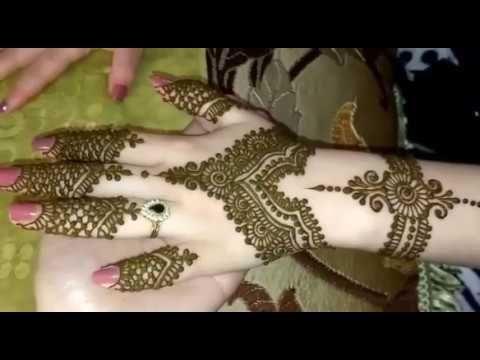 تعليم نقش هندي نقش حناء عصري حناء شمالية للعروس Youtube Henna Hand Tattoo Hand Tattoos Hand Henna