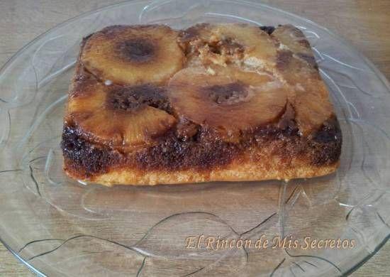 Mi tarta de Piña al Caramelo