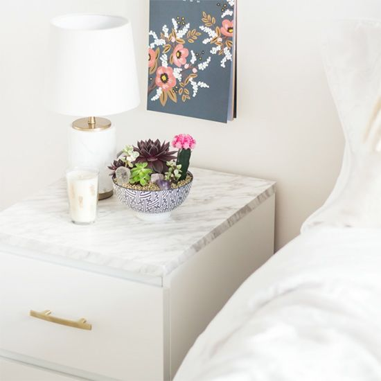 Ikea malm, Malm and Contact paper on Pinterest