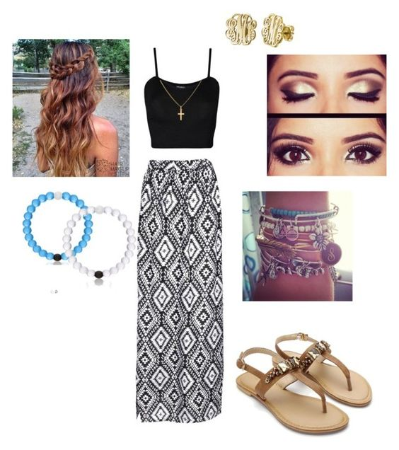"""""""My birthday is in 8 days"""" by haileycouture ❤ liked on Polyvore featuring Boohoo, WearAll, My Name Necklace and Sterling Essentials"""