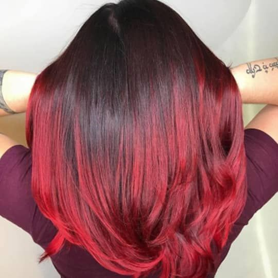 The 45 Hottest Red Hair Color Ideas To Try In 2020 Hair Com By L Oreal In 2020 Black Red Hair Red Hair Color Hair