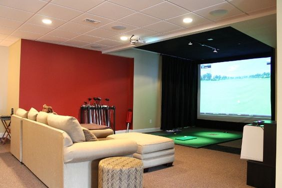 Basement finishing #Chicago A new way to enjoy in the #basement and yes it is not my old grandma's basement...!  Home theatre in the Basement