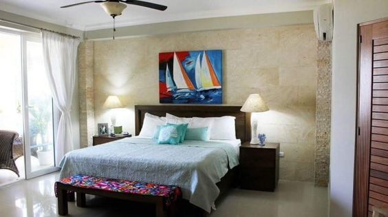 Luxury condo in front of the beach in the Dominican Republic