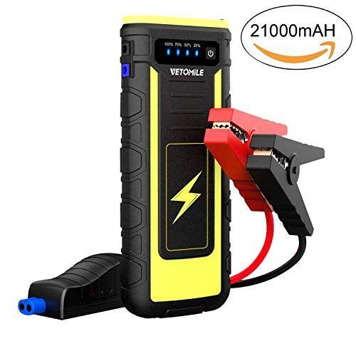 Vetomile Jump Starter Autos Auto Batterie Starthilfe