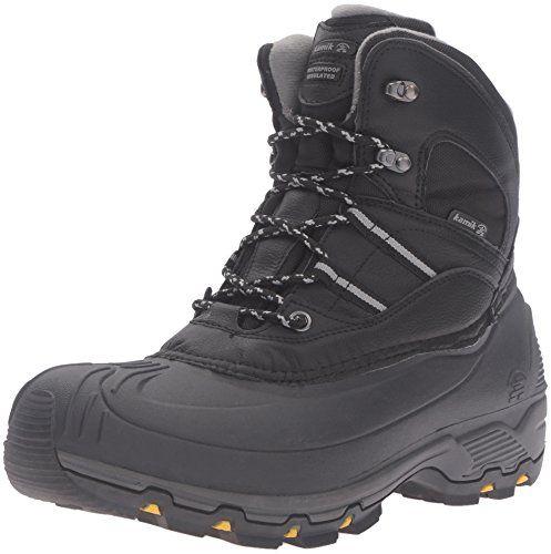 Kamik Men's Warrior2 Snow Boot, Black