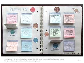 solar system foldable notebook - photo #21