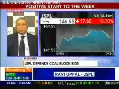 Mr. Ravi Uppal, MD & Group CEO talks to Bloomberg TV