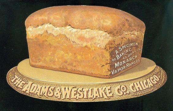 Card Loaf of Bread Promotes Monarch Vapor Ranges