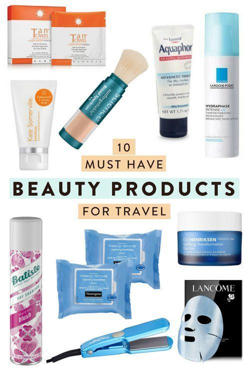 10 Must Have Beauty Products For Travelers Looking To Bring The Most Important Makeup Skin And Hair Care In 2020 Travel Beauty Adventure Beauty Traveling By Yourself