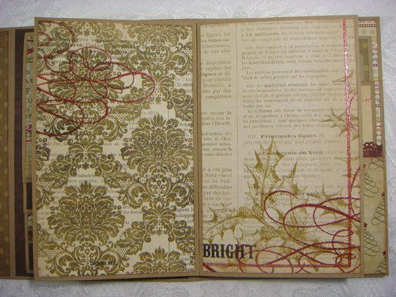 TPHH Sharon Chipboard Premade Vintage Keepsake Christmas Photo Scrapbook Album | eBay