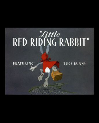little red riding rabbit 1944. Hey grandma!