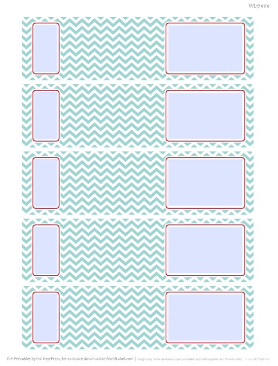 Bright Zig Zag Address Labels CRAZY ABOUT CHEVRON!!! Pinterest - free address label templates