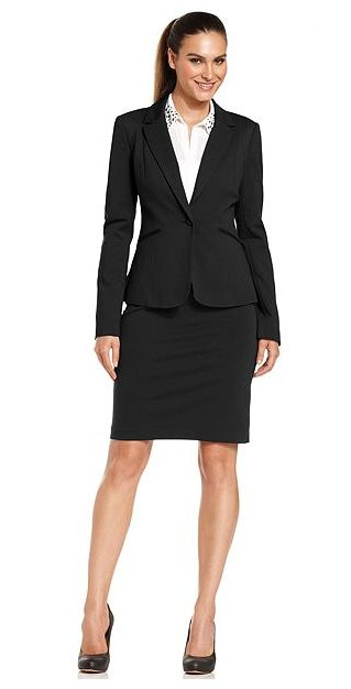 Suit with pencil skirt – Modern skirts blog for you