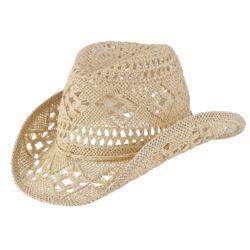 Chapeau country paille
