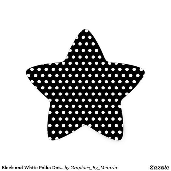 motif de point noir et blanc de polka tachet sticker. Black Bedroom Furniture Sets. Home Design Ideas