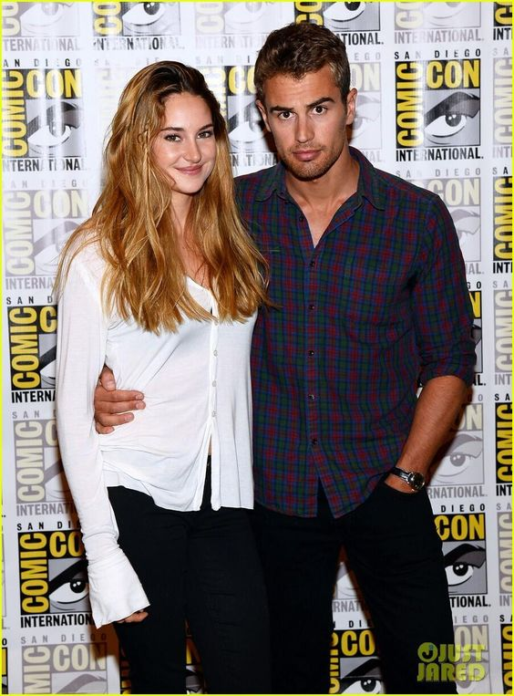 shailene and theo are they dating Cosy divergent co-stars shailene woodley and theo james continue to theo piped up, to which shailene rodriguez they have been dating since march.