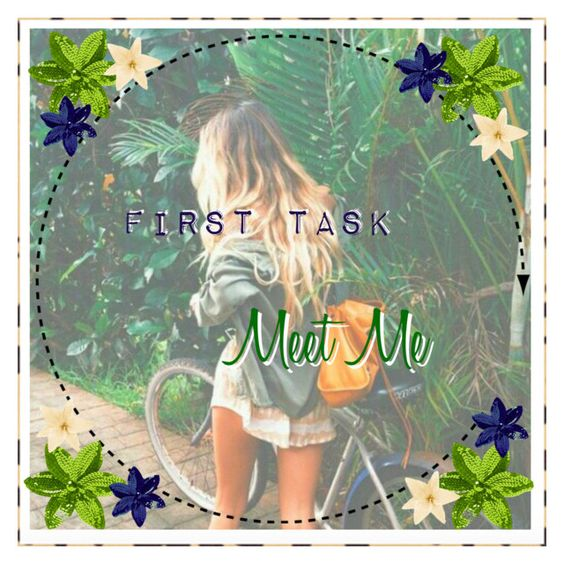 """""""First task//Meet me"""" by basicicons ❤ liked on Polyvore featuring art, babybc, imperfectbc, fashionbc, lovebc and sparklybc"""