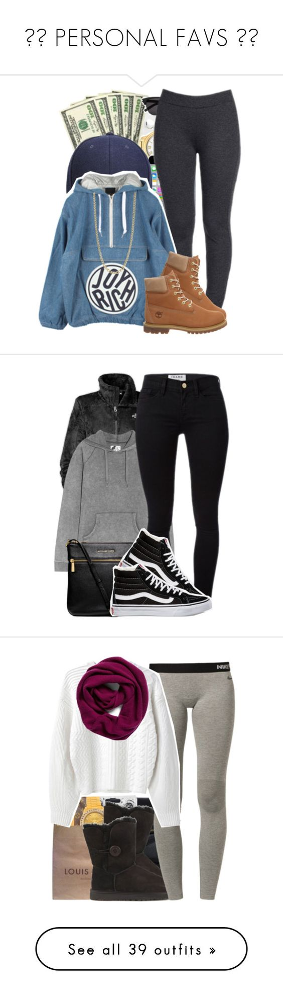 """"""" PERSONAL FAVS """" by society-is-ugly ❤ liked on Polyvore featuring NYDJ, Joyrich, Timberland, FOSSIL, The North Face, Zoe Karssen, Frame Denim, MICHAEL Michael Kors, Vans and Michael Kors"""