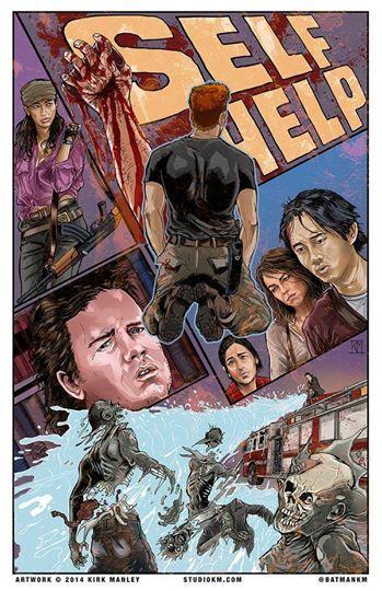 The Walking Dead Artwork by Kirk Manley. season 5