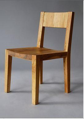 Silla madera wellsley for Sillas de comedor modernas en madera
