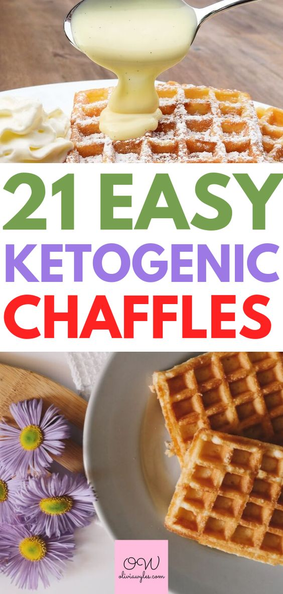 21 Chaffle Recipes That Will Change Your Life Forever | Olivia Wyles