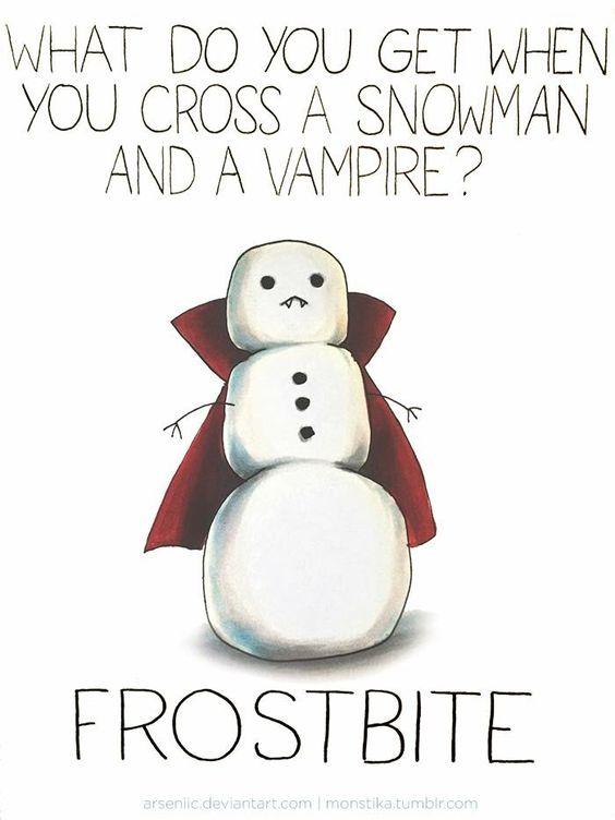 Snowman pun