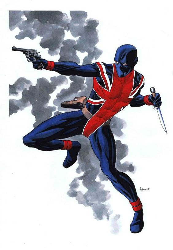Union Jack - Mike McKone