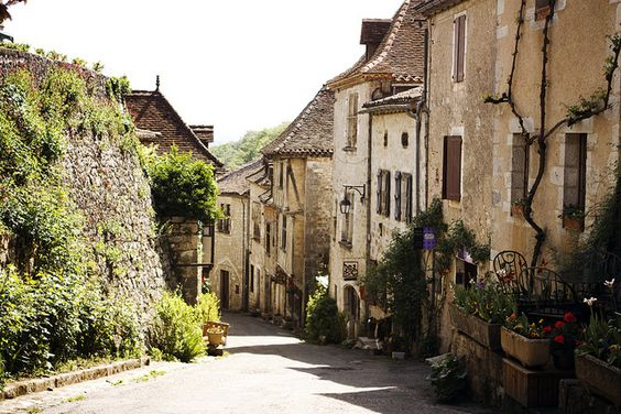 That Old Time Charm, by Whitney Justesen, via Flickr. Saint Cirq-Lapopie, France.