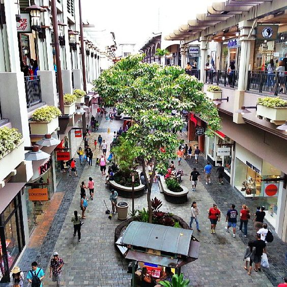 Ala Moana Shopping Center is the largest shopping mall in