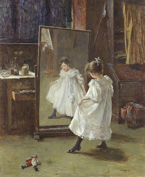 Charles Martin Hardie, The studio mirror, by 1916