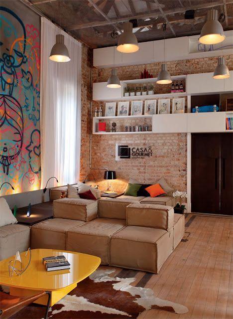 Oficina de Arquitetura: Tijolinho Aparente (tijolo à vista):