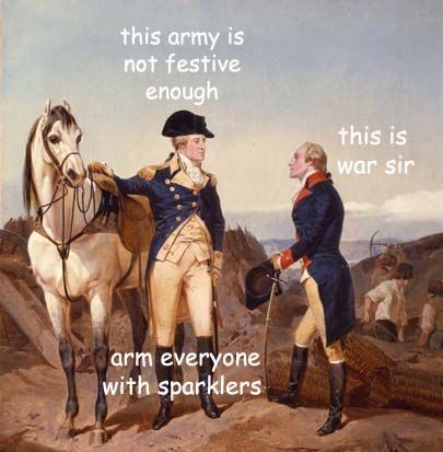 The Captioned Adventures of George Washington - Independence Day...