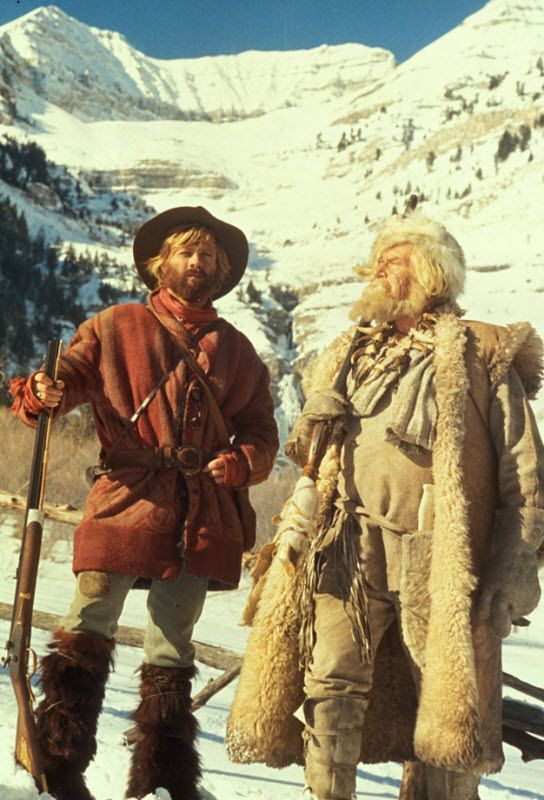 Jeremiah Johnson- blanket coat...Didn't think I would like the movie but after being persuaded to watch it, I loved it!