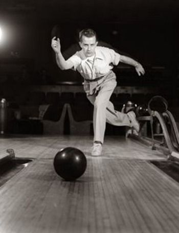 How to Bowl a Strike Consistently- tips for both lefties and righties. - Because no Ambassador should still be rolling it with two hands!