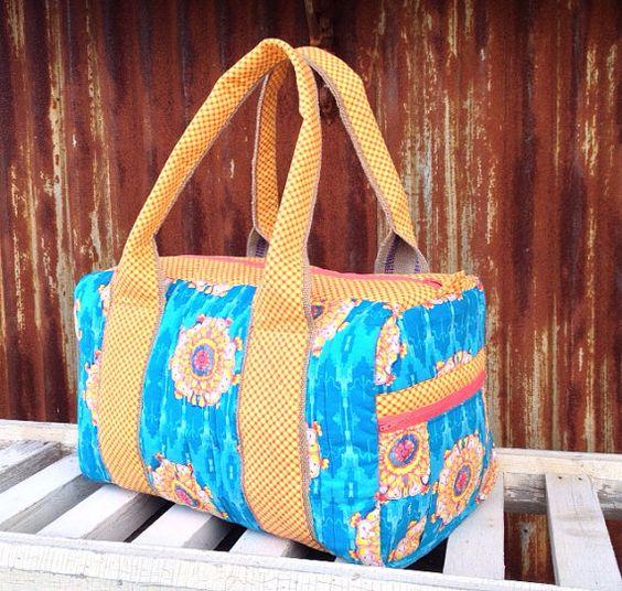 Weekender Bag on Etsy, $70.00