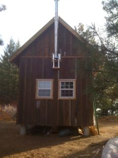 Timber Frame Cabin by neuwave http://www.cabinbuilds.net/timber-frame-build-by-neuwave_3