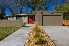 what color to paint my mid-century modern home - Google Search