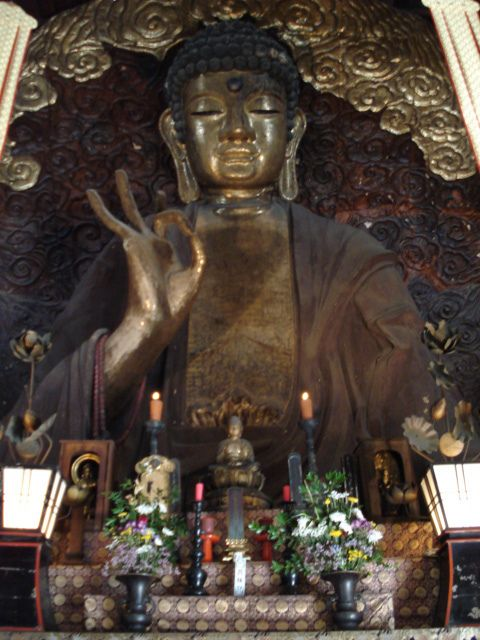 Japan, Gifu - Great Buddha (Shoho-ji Temple):