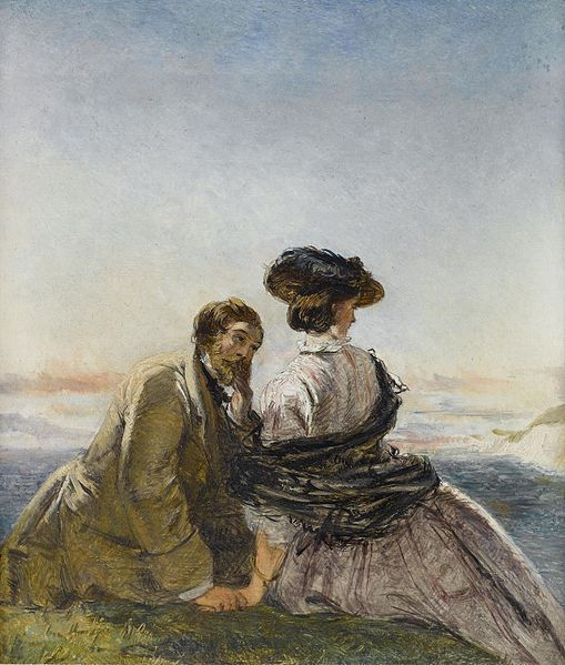 Lovers William_Powell_Frith_The_lovers