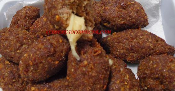 Receitas Culinárias: MINIQUIBES SUPER RÁPIDOS RECHEADOS