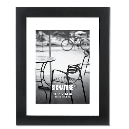 Black Signature Xl Frame By Aaron Brothers 11 X 14 Michaels Aaron Brothers Frame Shop Frame